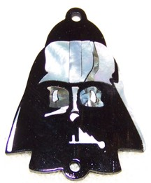 Custom Gibson Guitar Truss Rod Cover Inlay Darth Vader