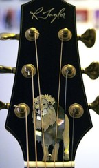 Taylor Lion Truss Rod Cover