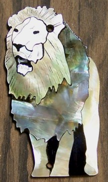 Custom Taylor Guitar Lion Truss Rod Cover