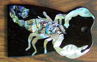 Custom Inlay,Guitar Inlay,Shark Inlay,Truss Rod Cover