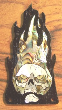 Skull ESP Truss Rod Cover